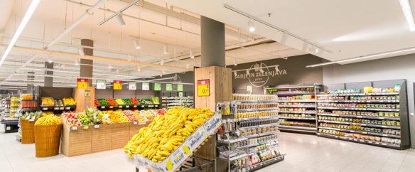 Prenovljen Tuš supermarket Planet Novo mesto