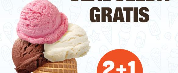 Kepica sladoleda gratis