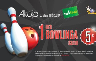 1 ura bowlinga samo 5€