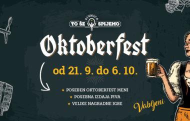 Oktoberfest v Pivnici To še spijemo