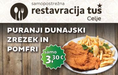 Posebna ponudba restavracije Tuš Celje