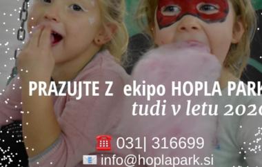 Hopla park – rojstnodnevna dogodivščina