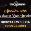 Akustični večer z duetom Rock Acoustic