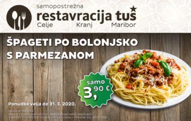 Posebna ponudba restavracije Tuš Kranj