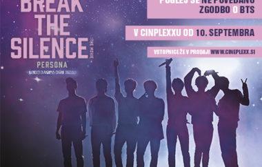 KONCERTNI FILM »BREAK THE SILENCE: THE MOVIE« PRIHAJA V CINEPLEXX CELJE