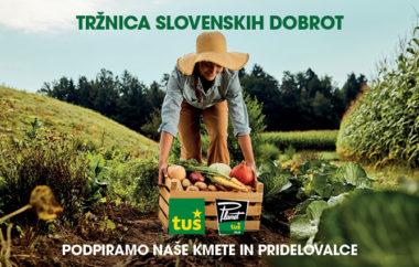Tržnica slovenskih dobrot v Planetu Tuš Celje