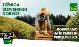 Petek je dan za tržnico slovenskih dobrot